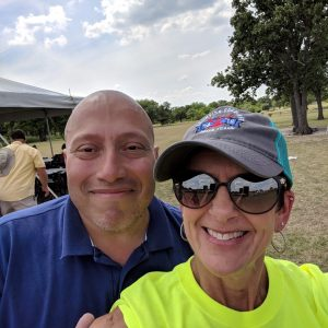 Re-united again! For a great cause...cook-off 2018