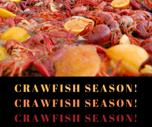 Shipwreck Grill 2019 Crawfish Season